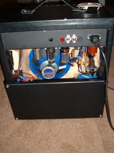 homemade tube amplifier