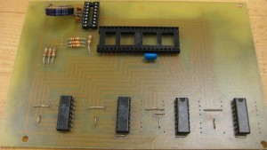 Nixie clock PCB