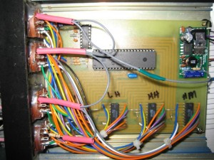 nixie tube clock wiring