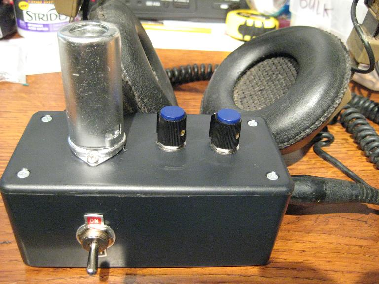 12au7 Headphone amplifier
