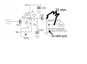 modified amp schematic