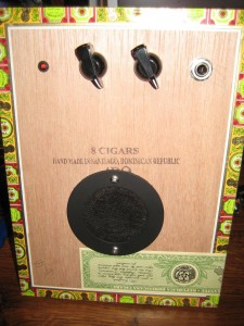 Cigar Box Amp #7 (.375W)