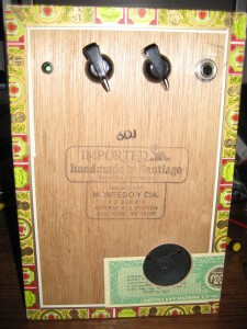 Cigar Box Amp #8 (.375W)