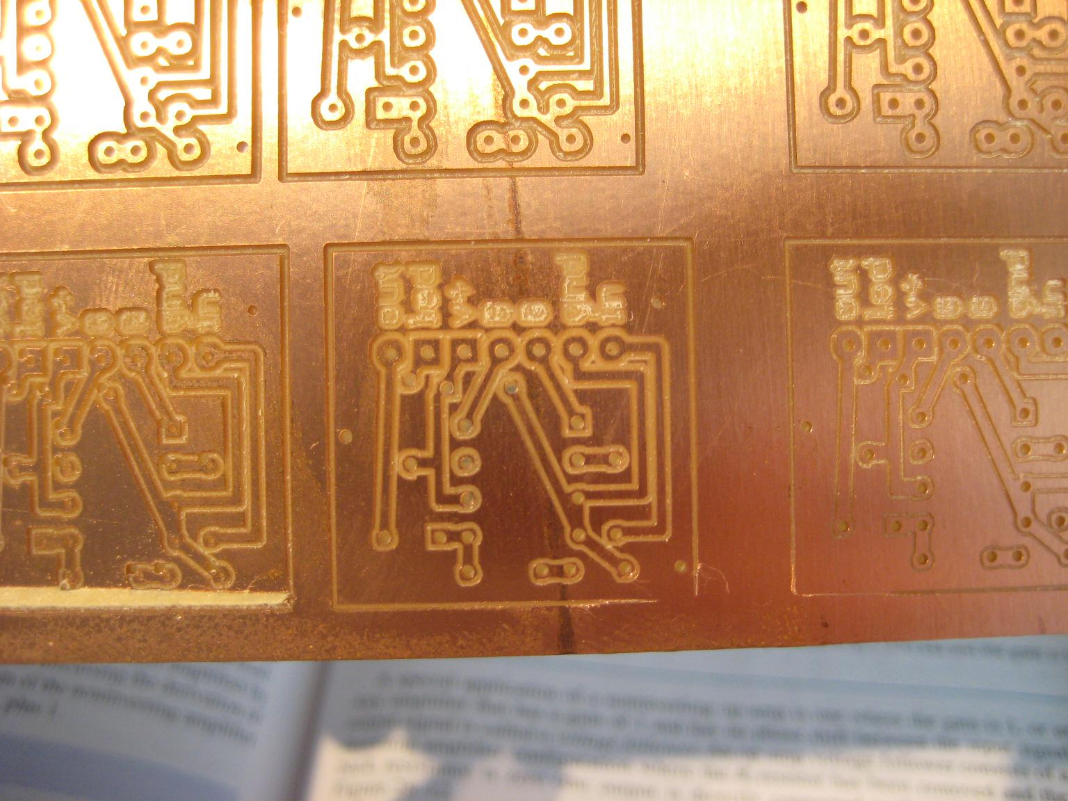 Results From Etching A Circuit Board Eagle Pcb Gcode Micro Cnc How To Etch Boards Once I Figure Out Edit Video In Ubuntu Ill Have Step By Of Use With