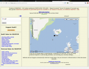 Screen capture of ariss.net